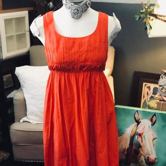 d689ae2a9e4c Lands' End Dresses | Lands End Silk Cotton Blend Midi Dress Clean Sz ...
